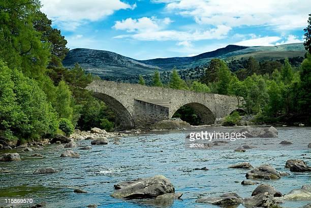 Scottish Highland stone bridge