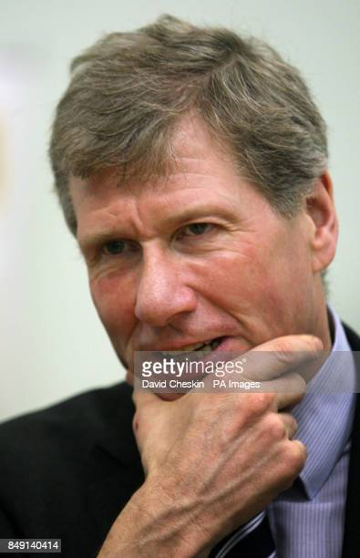 Scottish Justice Secretary Kenny MacAskill at the Citadel Youth Centre Edinburgh where he spoke to people who have benefited from the Cash Back for...
