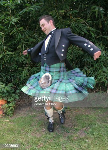 Scottish Kilt Twirl