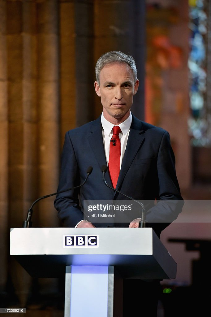 Scottish Political Leaders Attend Televised Debate In Edinburgh