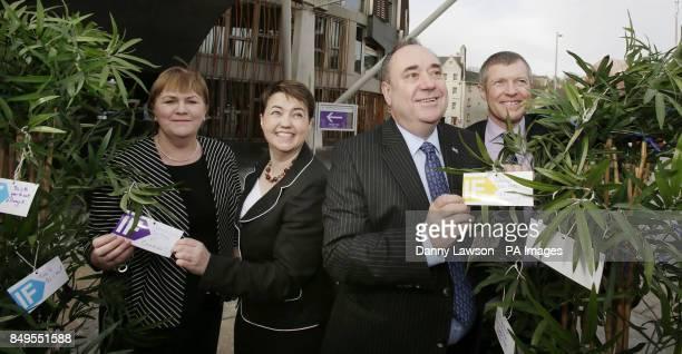 Scottish Labour Leader Johann Lamont Scottish Conservative Ruth Davidson First Minister Alex Salmond Scottish Liberal Democrats leader Willie Rennie...