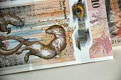 Scottish money. Royal Bank of Scotland. Ten pound bank note