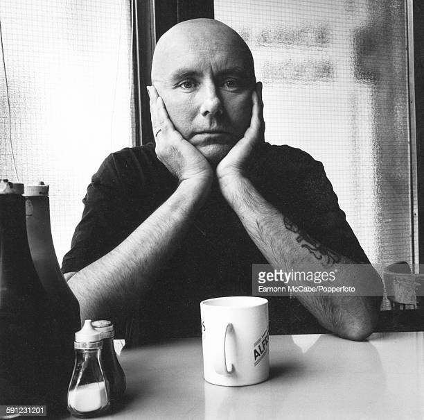 Scottish novelist playwright and short story writer Irvine Welsh circa 2000 He is recognised for his novel 'Trainspotting' which was later made into...