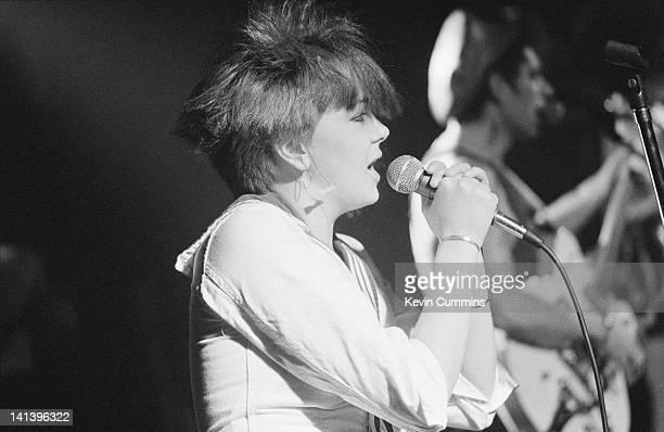 Scottish pop group Hey Elastica performing at The Hacienda Manchester 19th November 1982