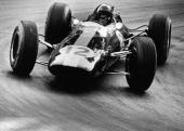 Scottish racing car driver Jimmy Clark negotiates a turn during the Grand Prix de Monaco May 10 1964