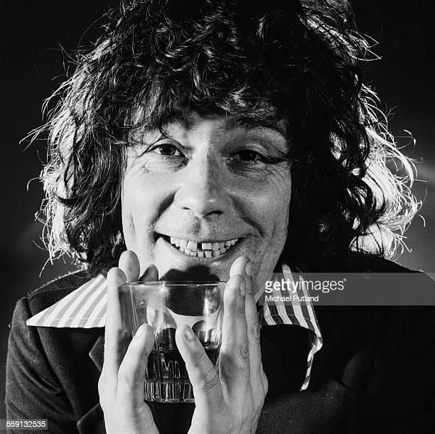 Scottish singer Alex Harvey of The Sensational Alex Harvey Band London 20th October 1975