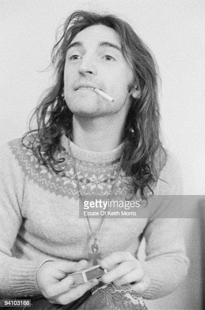Scottish singer and musician Mike Heron of psychedelic folk group The Incredible String Band 1971