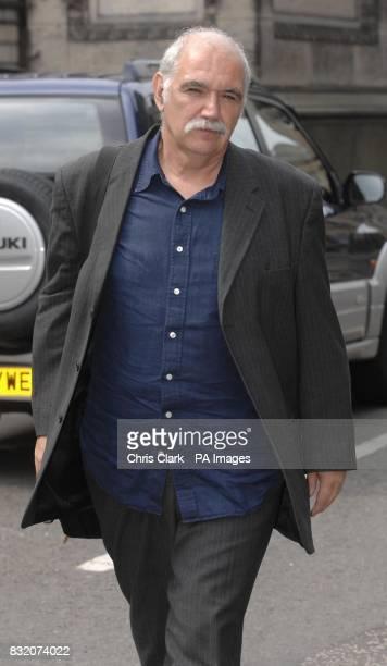 Scottish Socialist Party member Professor Mike Gonzalez arrives at the Court of Session in Edinburgh for former Scottish Socialist leader Tommy...