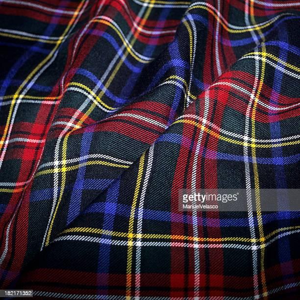 Tissu écossais Tartan