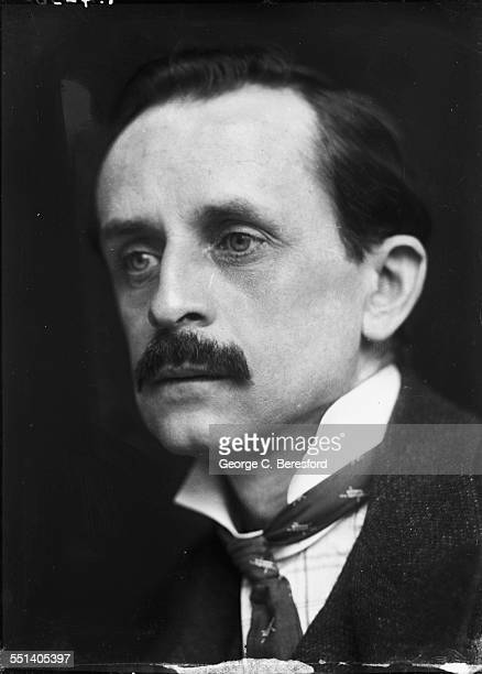 Scottish writer and dramatist Sir JM Barrie best known as the creator of Peter Pan 1902