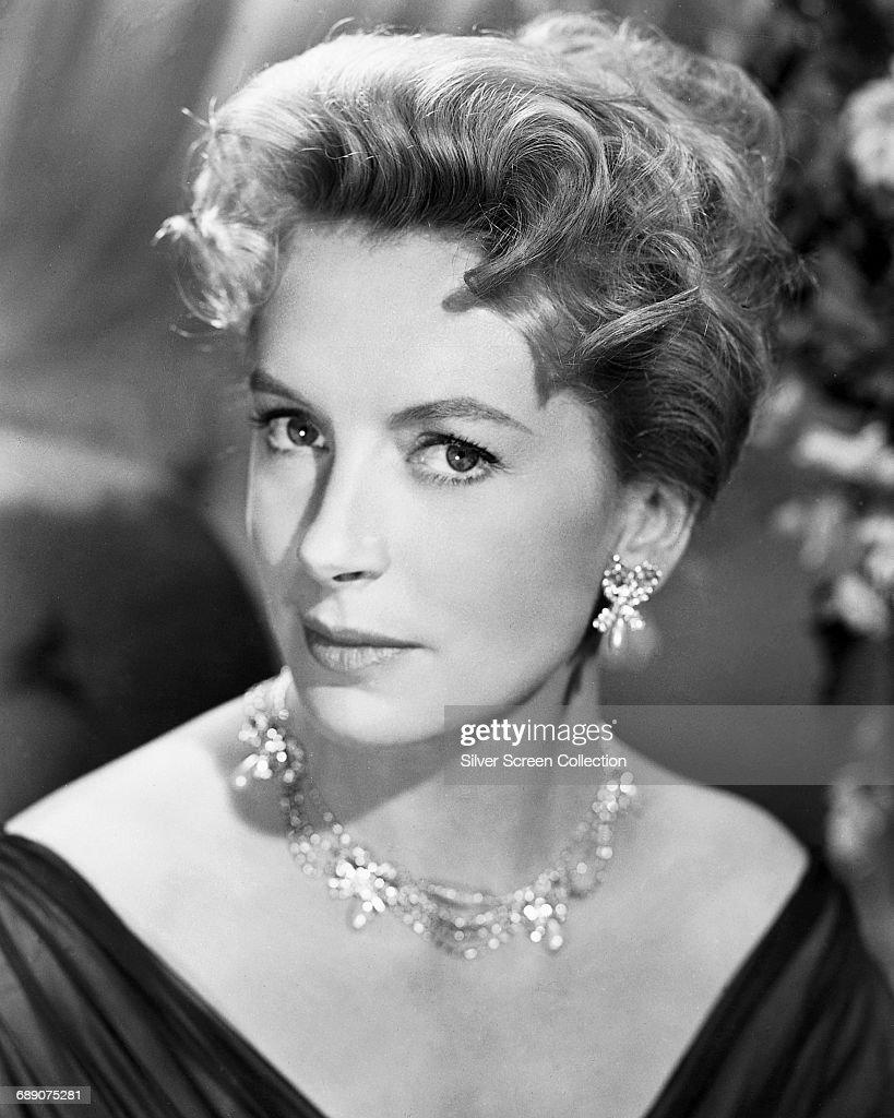 Scottish-born actress Deborah Kerr(1921 - 2007), circa 1955.