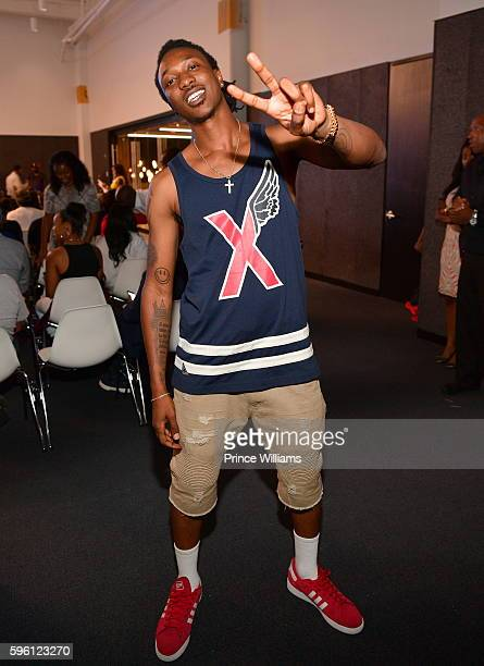 Scotty ATL attends Celebrating 25 Years Boyz N The Hood on August 23 2016 in Atlanta Georgia