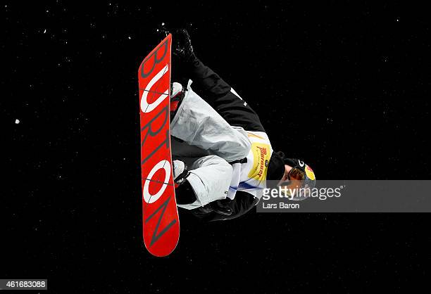 Scotty James of Australia competes during the Men's Halfpipe Final of the FIS Freestyle Ski and Snowboard World Championship 2015 on January 17 2015...