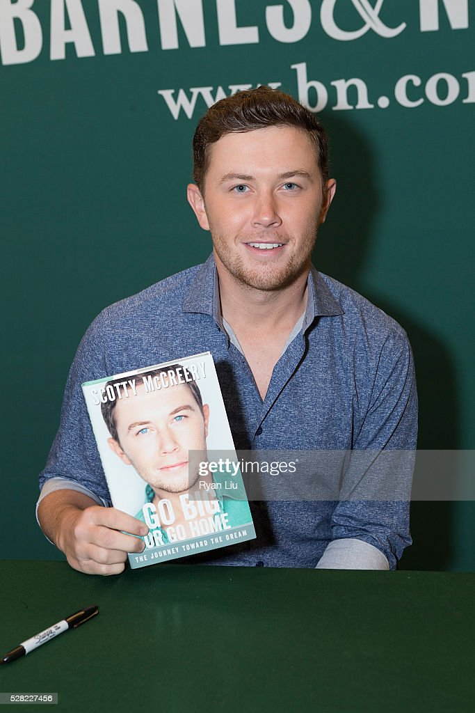 Scotty McCreery attends his book signing event Scotty McCreery Signs Copies Of 'Go Big Or Go Home' at Barnes & Noble Citigroup Center on May 4, 2016 in New York City.