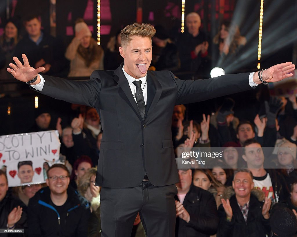 Scotty T is crowned the winner of Celebrity Big Brother at Elstree Studios on February 5, 2016 in Borehamwood, England.