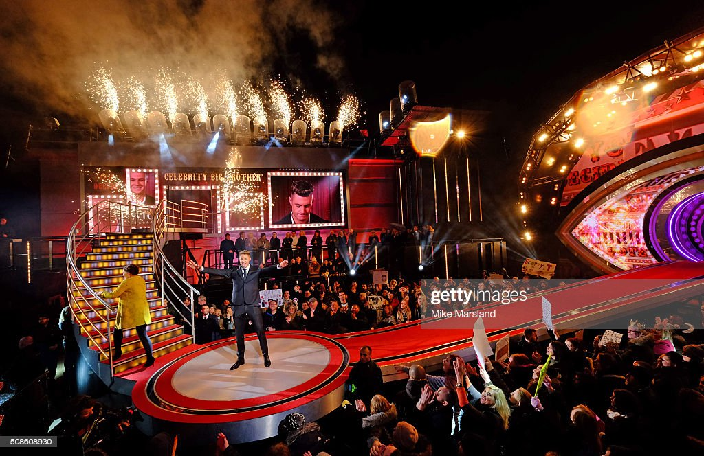 Scotty T is crowned winner of Celebrity Big Brother at Elstree Studios on February 5 2016 in Borehamwood England