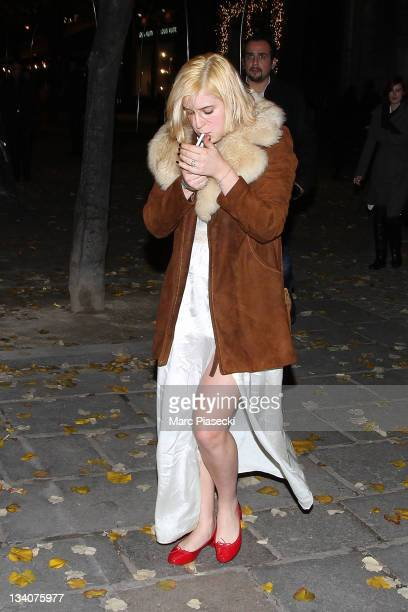 Scout Larue Willis is sighted at the 'La Societe' restaurant on November 24 2011 in Paris France
