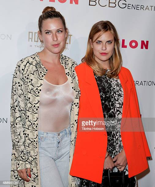 Scout Willis and Tallulah Willis attend the Nylon Magazine May young Hollywood issue party at Tropicana Bar at The Hollywood Rooselvelt Hotel on May...