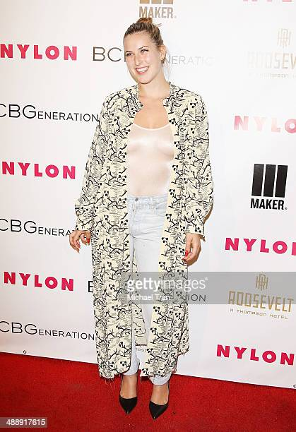Scout Willis arrives at the Nylon Magazine May Young Hollywood Issue Party held at Tropicana Bar at The Hollywood Rooselvelt Hotel on May 8 2014 in...