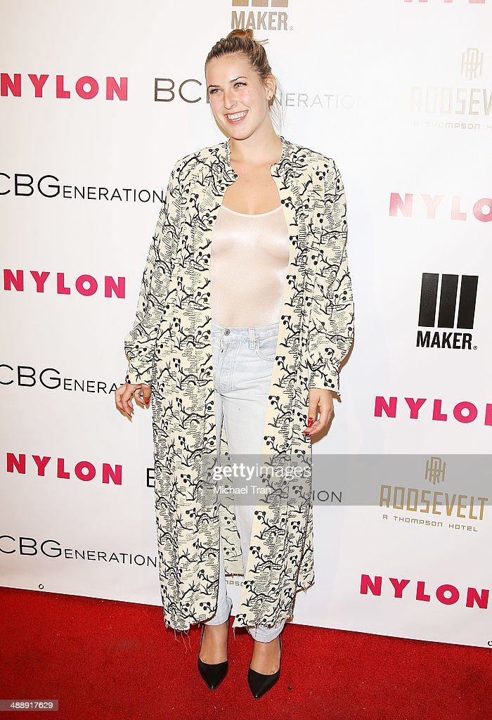 <a gi-track='captionPersonalityLinkClicked' href=/galleries/search?phrase=Scout+Willis&family=editorial&specificpeople=2669400 ng-click='$event.stopPropagation()'>Scout Willis</a> arrives at the Nylon Magazine May Young Hollywood Issue Party held at Tropicana Bar at The Hollywood Rooselvelt Hotel on May 8, 2014 in Hollywood, California.
