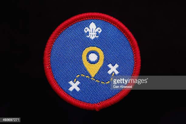 Scouts 'Geo Caching' Activity Badge on May 15 2014 in London England The Scout Movement have recently announced a range of new badges for Beavers...