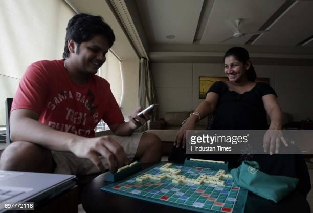 Scrabble Kashyap Vora and Ekta Vora ast their residence in Walkeshwar
