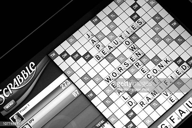Scrabble on the iPad Photographed Thursday December 9 2010 in Washington DC