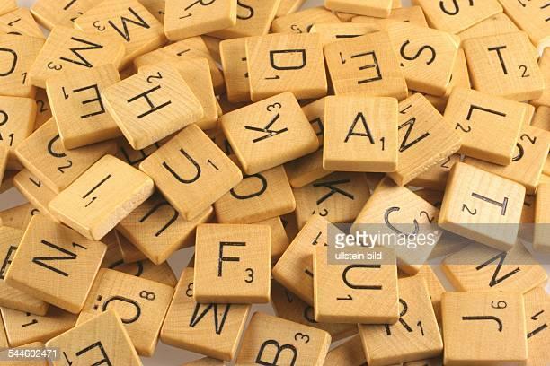 Scrabble Scrabblesteine mit Buchstaben