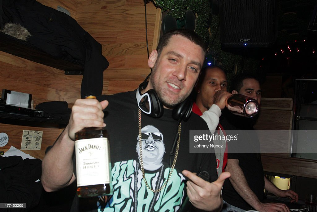 DJ Scram Jones spins at Ashanti's 'Brave Heart' Album Release Party at Greenhouse on March 8, 2014, in New York City.