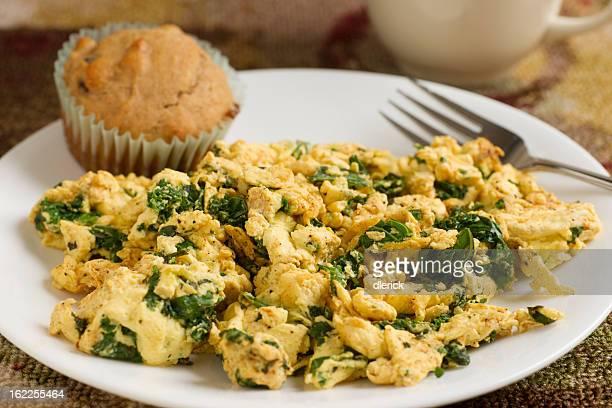 Scrambled Eggs and Kale