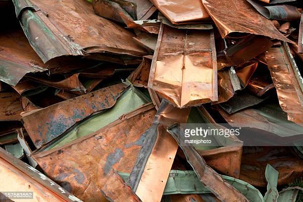 Scrap Copper Roofing