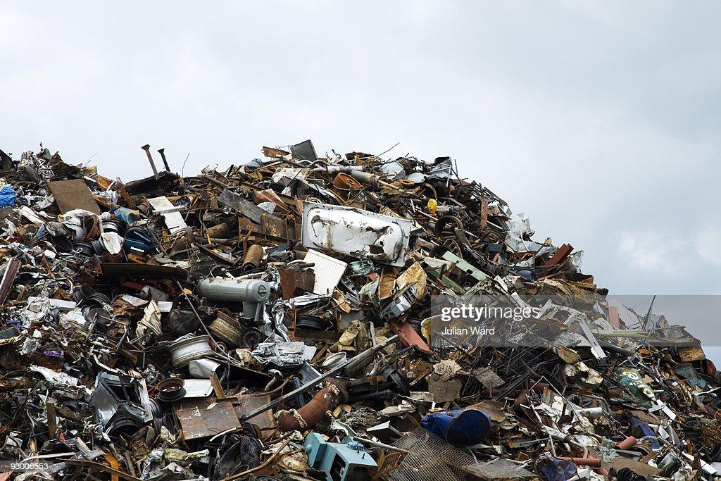 Scrap Heap : Stock Photo