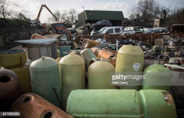 Junk Junk Yards Stock Photos and Pictures