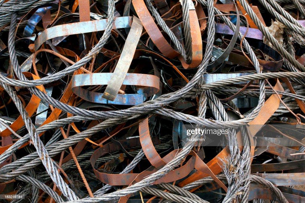 Scrap Metal Background : Stock Photo