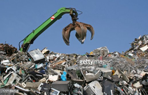 Scrap metal, iron and computer dump # 9