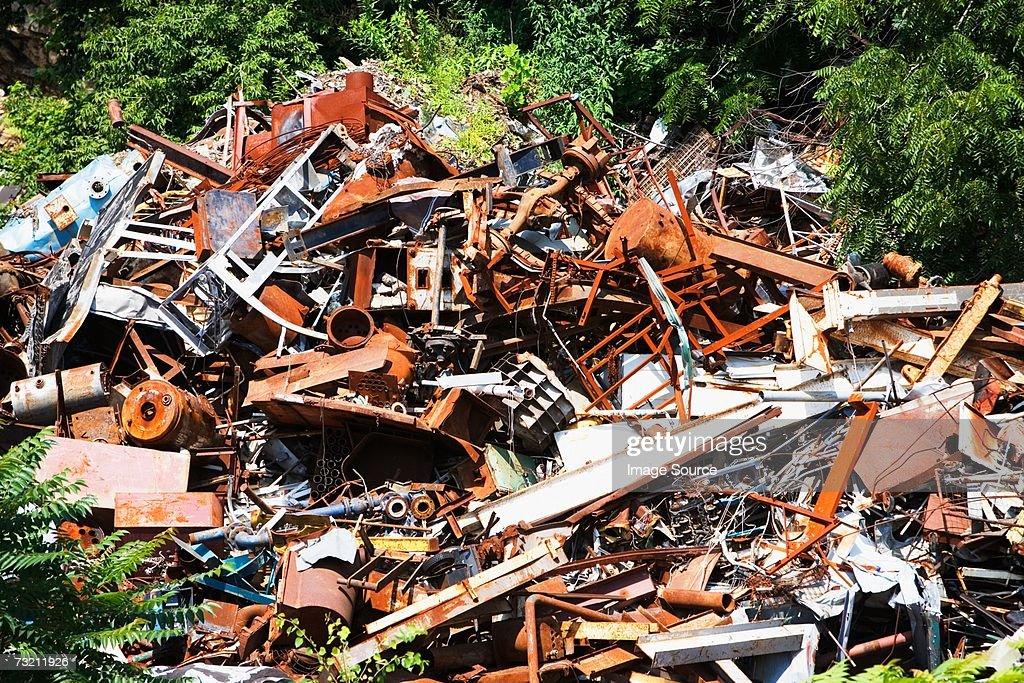 Scrap metal : Stock Photo