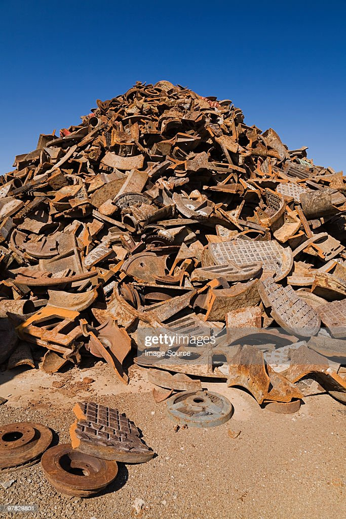 Scrap metal : Stock Photo