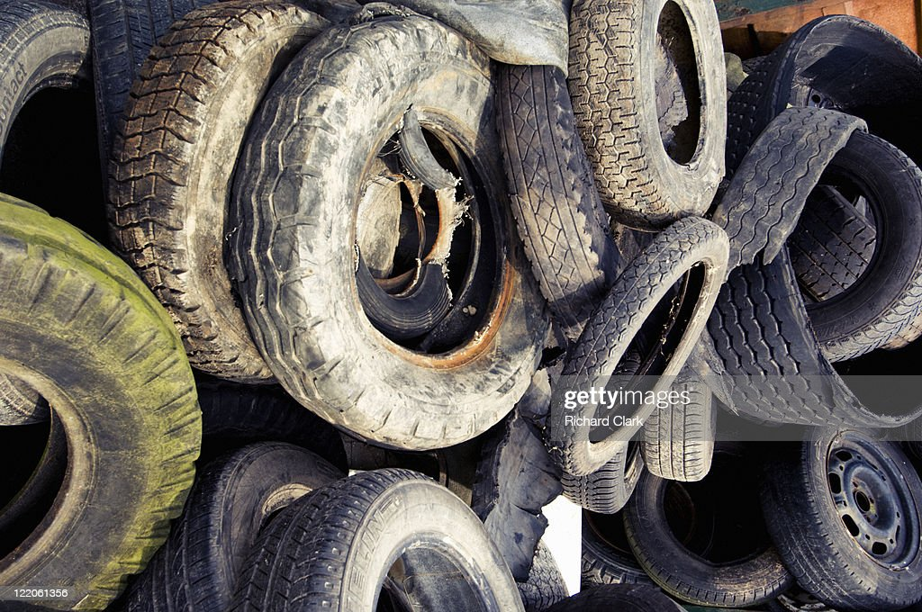Scrap yard : Stock Photo