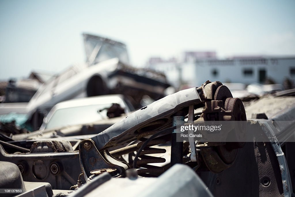 Scrapping : Stock Photo