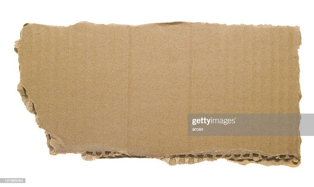 Scratched Cardboard