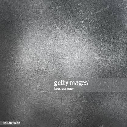 Scratched metal background : Stock Photo