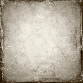 Scratched, vintage monochromatic paper background.
