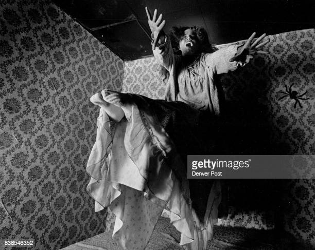 Scream in the Dark Celebrity Sports Center Susan Shook plays Regan From from the film The Exorcist She is levitating off of her bed Credit The Denver...