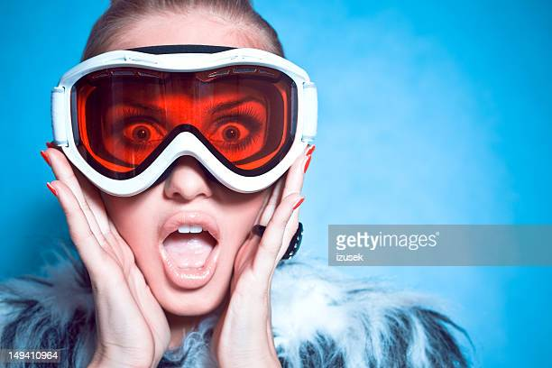 Screaming Winter Girl