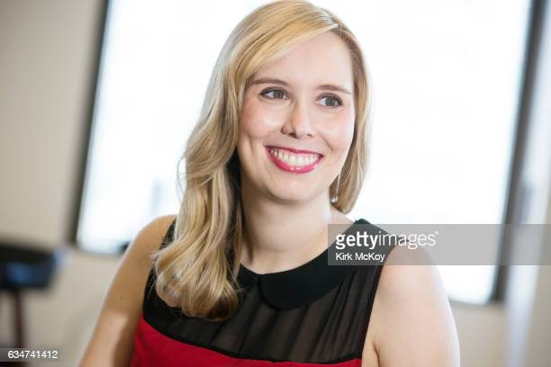 Screen writer and producer Allison Schroeder is photographed for Los Angeles Times on January 17 2017 in Los Angeles California PUBLISHED IMAGE...