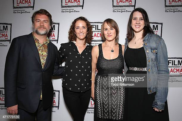 Screen writer Eliot Laurence Producer Jessica Elbaum Director Shira Piven and Producer Margot Hand attend Alchemy's Los Angeles premeire of 'Welcome...