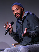 Screen writer John Ridley attends The Apple Store Soho Presents Meet The Creator at Apple Store Soho on February 9 2015 in New York City