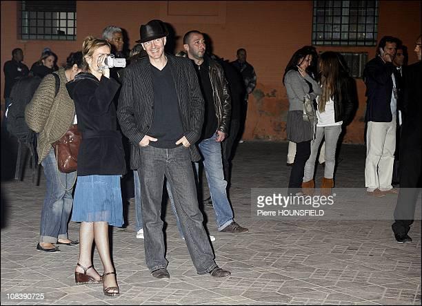 Screening of 'Glory' 'Days of Glory' Jeema el Fna Jamel Debbouze Mohamed Majd Samy Bouajila and Assaad Bouab in Marrakech Morocco on December 04 2006