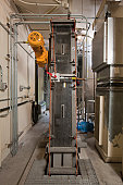 Screening systems for purification machinery at a water treatment plant