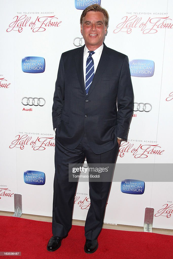 Screenwriter Aaron Sorkin attends the Television Academy's 22nd Annual Hall Of Fame Induction Gala held at The Beverly Hilton Hotel on March 11, 2013 in Beverly Hills, California.